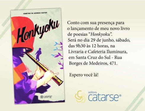 Convite Lançamento Honkyoku