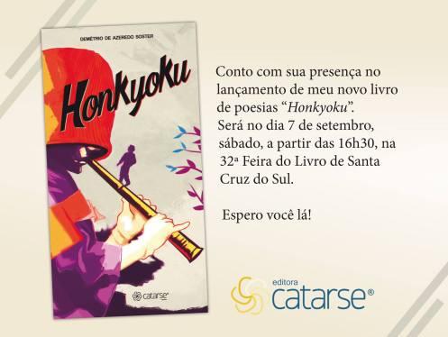 Lançamento feira do Livro de Santa Cruz do Sul